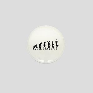 Evolution Yoga Mini Button