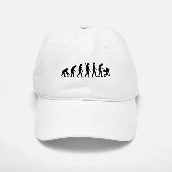 Evolution Baby parents Baseball Baseball Cap