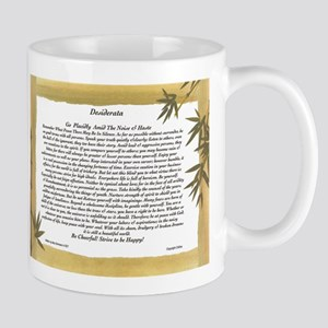 The Desiderata Poem by Max Ehrmann. Mug