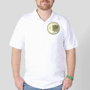 New Hampshire Quarter 2000 Basic Golf Shirt