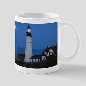 Super Moons Lighthouse View Mug