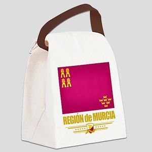Murcia (Flag 10) Canvas Lunch Bag