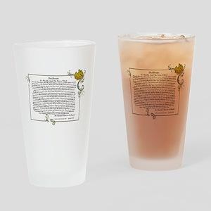 The Desiderata oem by Max Ehrmann Drinking Glass