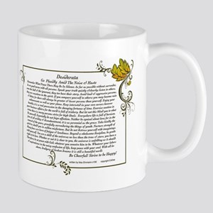 The Desiderata oem by Max Ehrmann Mug