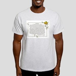 The Desiderata oem by Max Ehrmann Light T-Shirt