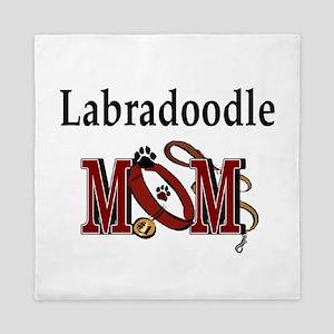 Labradoodle Mom Queen Duvet