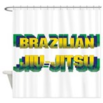 Jiu Jitsu Shower Curtain