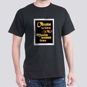 muslim women Dark T-Shirt