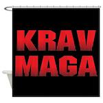 Krav Maga Shower Curtain
