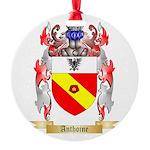 Anthoine Round Ornament