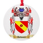 Anthoney Round Ornament