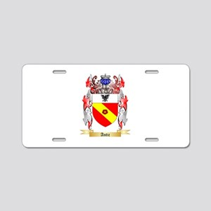 Antic Aluminum License Plate