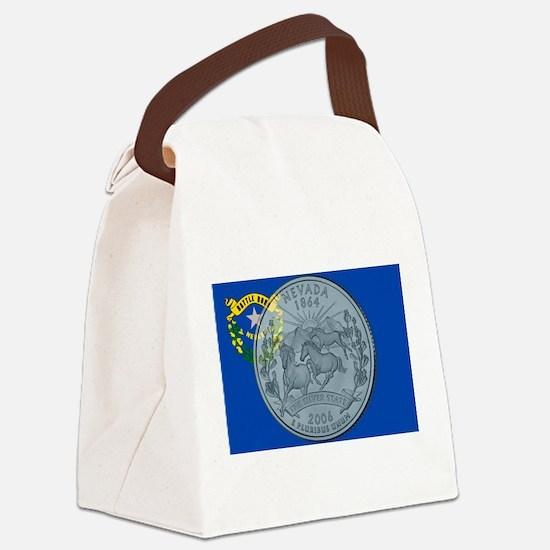 Nevada Quarter 2006 Canvas Lunch Bag