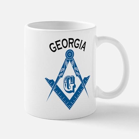 Georgia Freemason Mug