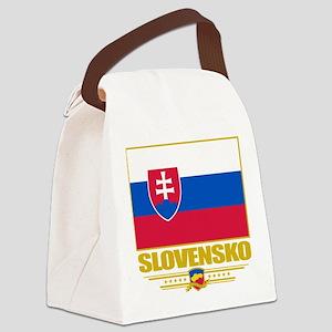 Slovakia (Flag 10) Canvas Lunch Bag