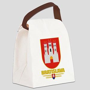 Bratislava COA (Flag 10) Canvas Lunch Bag