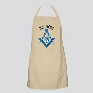 Illinois Freemason Apron