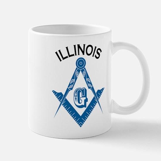 Illinois Freemason Mug