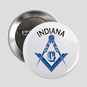 "Indiana Freemason 2.25"" Button"
