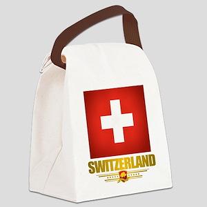 Switzerland (Flag 10) 2 Canvas Lunch Bag