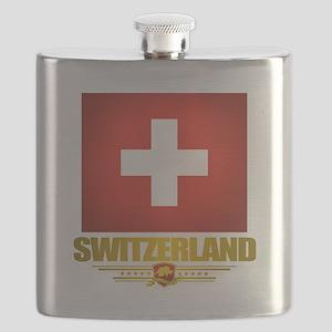 Switzerland (Flag 10) 2 Flask