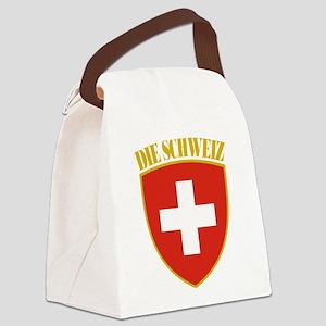 Switzerland (german) Arms Canvas Lunch Bag