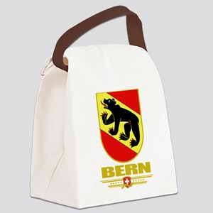 Bern (Flag 10) Canvas Lunch Bag