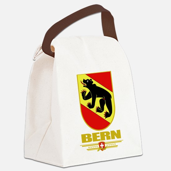 Bern (Flag 10).png Canvas Lunch Bag