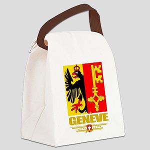 Geneva (Flag 10) Canvas Lunch Bag