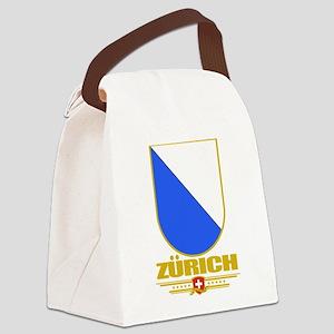 Zurich (Flag 10) Canvas Lunch Bag