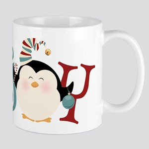 Christmas Penguin Joy Mug