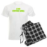 I Do Coitus Well Men's Light Pajamas