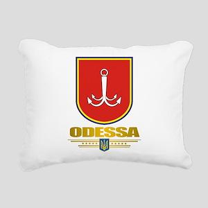 Odessa COA 2 Rectangular Canvas Pillow