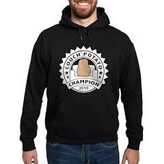 Couch Potato Champion Hoodie (dark)