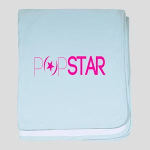 Pop Star baby blanket