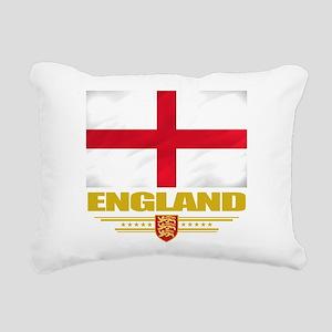 England (Flag 10) Rectangular Canvas Pillow