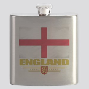 England (Flag 10) Flask