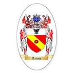 Antoin Sticker (Oval 10 pk)