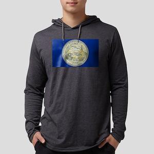 Nebraska Quarter 2006 Mens Hooded Shirt