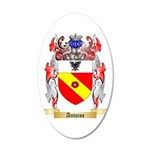 Antoine 20x12 Oval Wall Decal