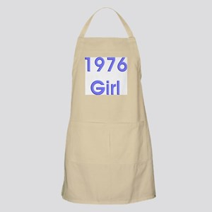 1976 Girl Bold BBQ Apron