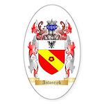 Antonczyk Sticker (Oval)