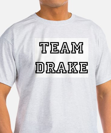 TEAM DRAKE Ash Grey T-Shirt