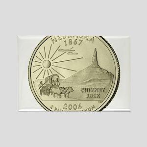 Nebraska Quarter 2006 Basic Magnets