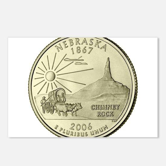 Nebraska Quarter 2006 Basic Postcards (Package of
