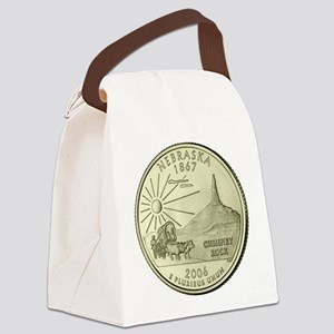 Nebraska Quarter 2006 Basic Canvas Lunch Bag