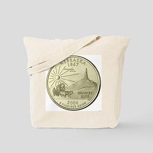 Nebraska Quarter 2006 Basic Tote Bag
