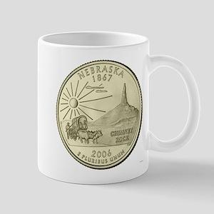 Nebraska Quarter 2006 Basic Mugs