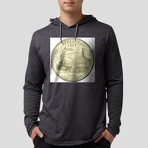 Nebraska Quarter 2006 Basic Mens Hooded Shirt