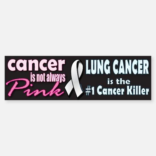 Cancer is not always Pink! Sticker (Bumper)